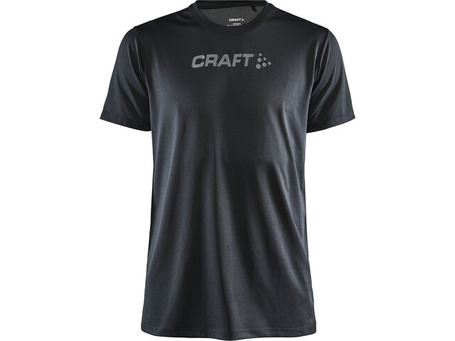 Craft Core Essence Camiseta Malla Manga Corta Hombre, negro